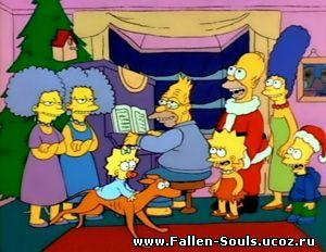 The Simpsons 1 сезон 1 серия | Симпсоны готовят на открытом огне (рус. укр.) смотреть онлайн