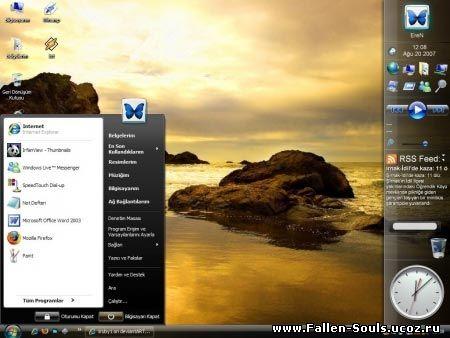 лучшие темы для windows xp